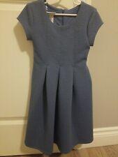 Bonnie Jean Girls Blue Short Sleeve Dress Size 6X NWOT