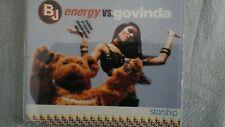 BJ ENERGY VS. GOVINDA - STARSHIP. PROMO  CD SINGOLO 3 TRACKS