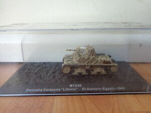 ATLAS DEAGOSTINI 1/72 M13/40 EGYPT EL-ALAMEIN 1942 WW2 DIECAST TANK