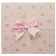 "Pink Baby Nursery Keepsake Box & Photo Album Case Bound 50 Leaves 200 6x4"" Photo"