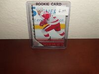 Johan Franzen 2005-2006 Upper Deck #456 Rookie Card Detroit Redwings LW