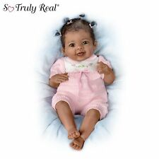 Ashton Drake Taylor's Ticklish Tootsies Interactive Baby Doll by Linda Murray