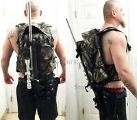 Camouflage Tactical Rifle Backpack Hunting Gun Bag Airsoft Shotgun Paintball