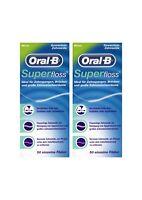 2x Oral-B Superfloss Zahnseide 50 Fäden