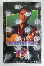 1992 River Group Elvis Collection Series 1 Trading Card Box 36 Packs * Sealed