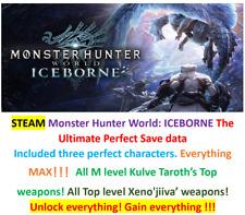 Monster Hunter:World ALL platform save data Mod service!