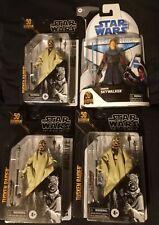 Star Wars The Black Series Clone Wars Anakin Skywalker + 3x Tusken Raider Lot