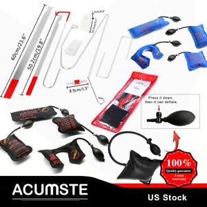 9pcs & 12pcs Car Door Open Unlock Tool Kit Lock Out & Air Pump & Air Wedge Set