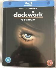 A Clockwork Orange -  Blu-Ray UK Steelbook ( New & Sealed )