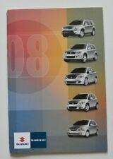 SUZUKI Full Line 2008 dealer brochure - French - Canada SX4 XL7 Grand Vitara