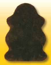 Lammfelle Australisches Lammfell Braun ca. 120 x 78 cm