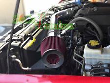 Black Red Air Intake Kit & Filter set For 2005-2014 Nissan Frontier 4.0L V6