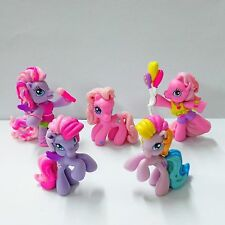 5pcs My Little Pony G3.5 Ponyville Anthro Sing & Dance Rainbow Dash Figure toys
