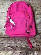 KIPLING HARPER BP4124 Expandable girl Backpack Travel Bag Hydrangea pink NWT