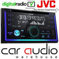 JVC KW-DB93BT Double Din DAB Radio CD MP3 USB AUX Bluetooth Car Stereo & Aerial