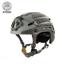 FMA Airsoft Caiman casco con espacio de carril NVG Sudario Caza Militar Paintball