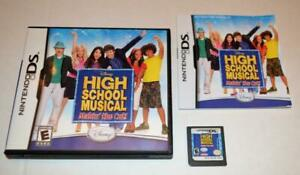 HIGH SCHOOL MUSICAL: MAKIN' THE CUT  NINTENDO DS GAME 3DS 2DS LITE CIB COMPLETE
