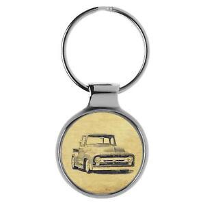 Für Ford F-100 2. Generation Fan Schlüsselanhänger A-6450
