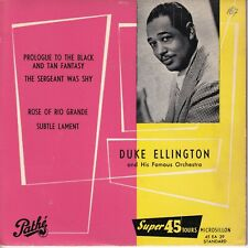 7inch DUKE ELLINGTON prologue to the black and tan fantasy EP FRANCE EX (S3438)