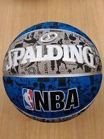 Spalding NBA Graffiti Basketball Ball Official Game Sports Size-7.