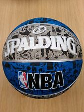 Spalding NBA Graffiti Basketball Ball Official Game Sports Size 7 FREE P+P