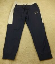 Nike Air Pants Adult Extra Large Blue Grey Spell Out Logo Athletic Lace Up Mens