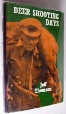 Deer Shooting Days 1965 Joff Thomson New Zealand Professional Hunter Memoir