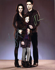 REPRINT KRISTEN STEWART ROBERT PATTINSON Twilight 2 autograph signed photo