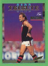 Select 1995 AFL Series 1 Tribute Card Tim Watson card, near mint