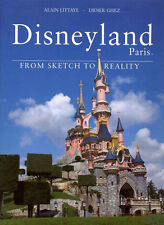 DISNEYLAND PARIS FROM SKETCH TO REALITY ENGLISH UPDATED EDITION RARE SIGNED COPY