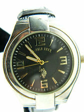 U.S POLO  MEN' S WATCH  NEW BATTERY BIG NUMERAL