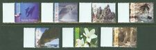 NIUE 2014  NATURE FLOWERS MARINE LIFE SCENERY SET OF SEVEN   MINT NH