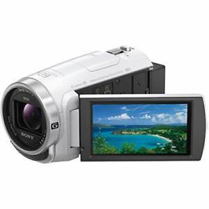 Sony HDR-CX680 W Camcorder Handycam Optical 30x Internal Memory 64GB