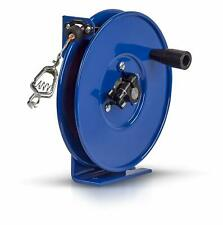 Coxreels SDH-100 Spring Rewind Static Discharge Hand Crank Cable Reel 100' Steel