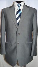 BLAZER TAILORING -ENGLAND SMART ELEGANT WOOL & MOHAIR SUIT JACKET UK 40 EU 50