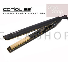 CORIOLISS STRAIGHTENER PLATES HAIR C1 GOLD PAISLEY TITANIUM PROFESSIONAL MAX