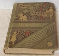 Five Little Peppers Midway By Margaret Sidney 1893, Antique Book