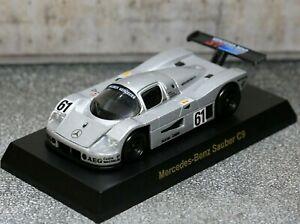 Kyosho 1/64 Mercedes-Benz Collection Sauber C9 1989 No.61 Le Mans SCHLESSER
