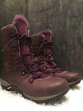 Dansko Camryn Boots Brown & Purple Fur size 42  USA: 11.5-12
