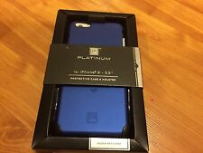 NEW PT Platinum Iphone 6 PLUS 6+ Protective PHONE Case and Holster COBALT Blue