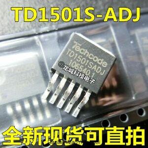 TD1501SADJ TD1501S-ADJ TO263-5