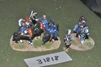 25mm napoleonic / french - generals 6 figures - command (31818)