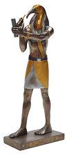 Veronese Bronze Figurine Egyptian God Thoth Statue Gift Home Decor Small
