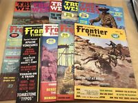 Vintage 1969 True West, Frontier Times Old Western Treasure Magazines Lot Of 10