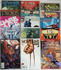 Lot of 198+: Assorted Comics Marvel, Wildstorm, New X-Men, Wolverine Origins