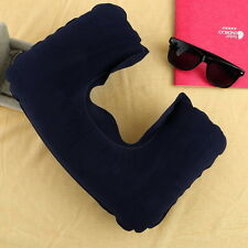 Inflatable Travel Pillow Air Cushion Neck Rest U-Shaped Compact Flight BE