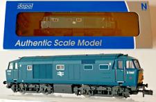 DAPOL N GAUGE - 2D-018-009 - BR BLUE CLASS 35 'HYMEK' D7007 SYP DOUBLE ARROW NEW