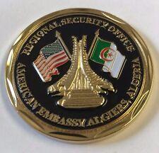 DOS DSS Diplomatic Security Service Reg Security Office AMEMB Algiers, Algeria