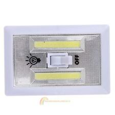 Closet Battery Operated Wall Switch Wireless Night Light Cordless Bright COB LED