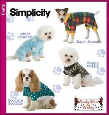 Nuevo | simplicidad Woofy desgaste por Wendy | artesanía patrón de costura 3939 Perro Ropa